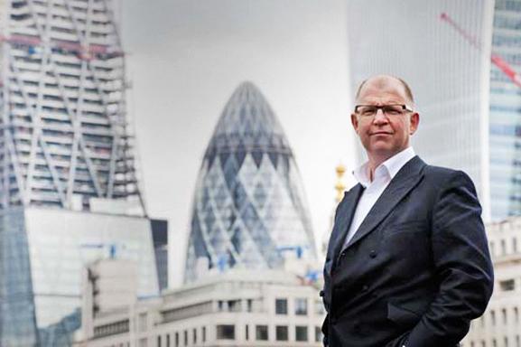 Portrait with City views London