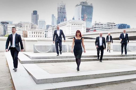 Team photos London The City