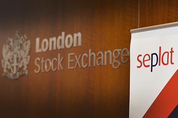 Financial markets photographs London
