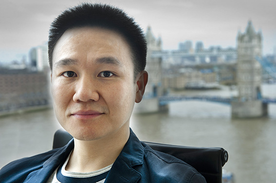 LinkedIn profile photo with Tower Bridge London