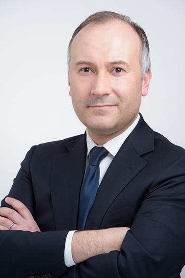 Profile headshot on white background 1