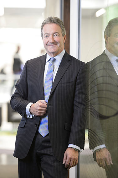 Executive portrait for CEO magazine in London offices.