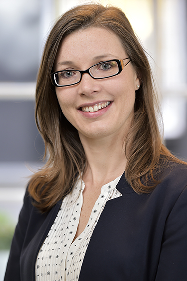 Business woman's photo for her company website