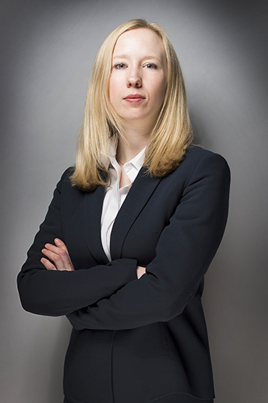 Corporate portrait photography at Beech Street studio with soft professional lighting and grey background