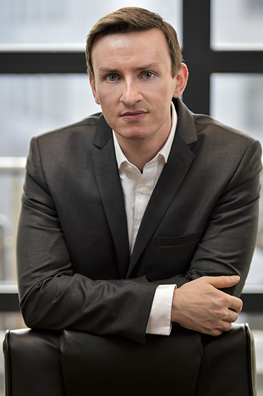 Business director photograph for LinkedIn profile page