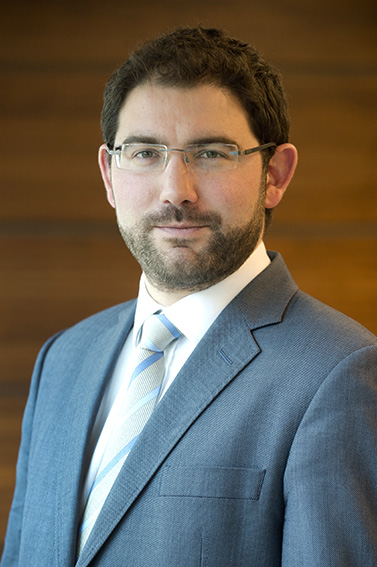 Boardroom photograph of London business man