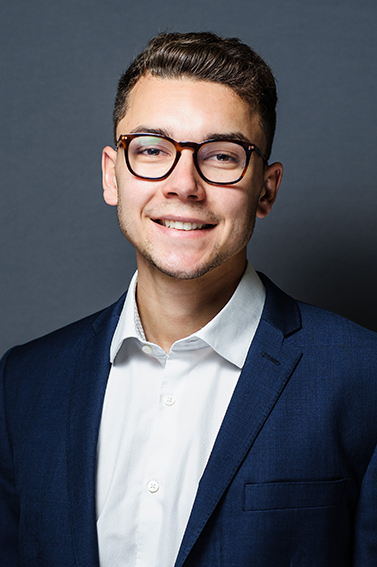 Casual and informal corporate headshot at our Beech Street studio in London