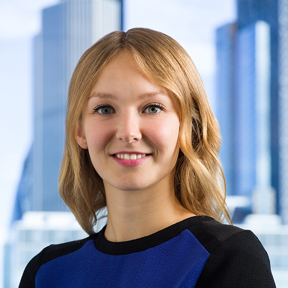 City headshot with corporate London behind