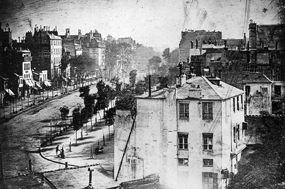 Mandé Daguerre Boulevard du Temple in Paris Photography