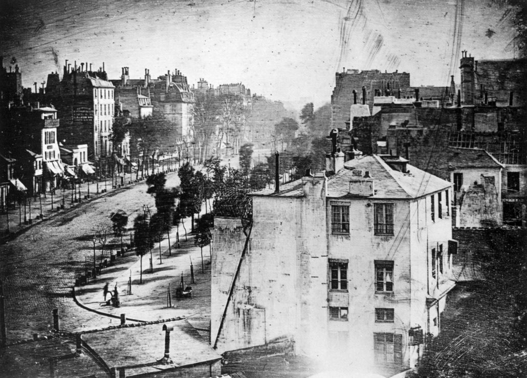 Mandé Daguerre Boulevard du Temple in Paris Photography