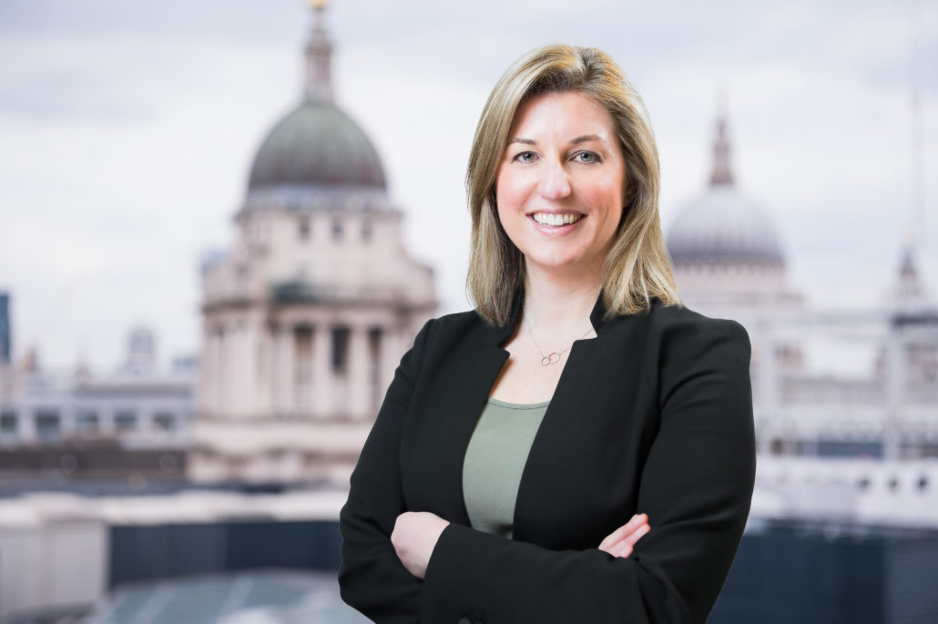Corporate headshot with St Pauls London Cityscapes
