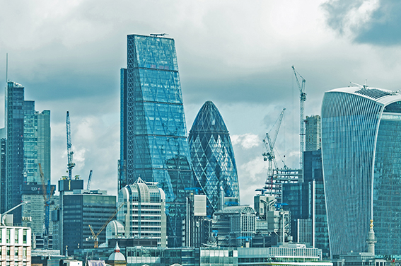 Corporate London photography City skyline view