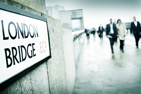 Corporate London photography London Bridge view
