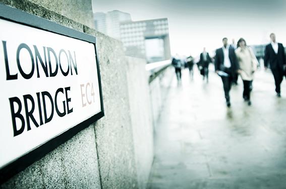 Corporate London photography London Bridge view