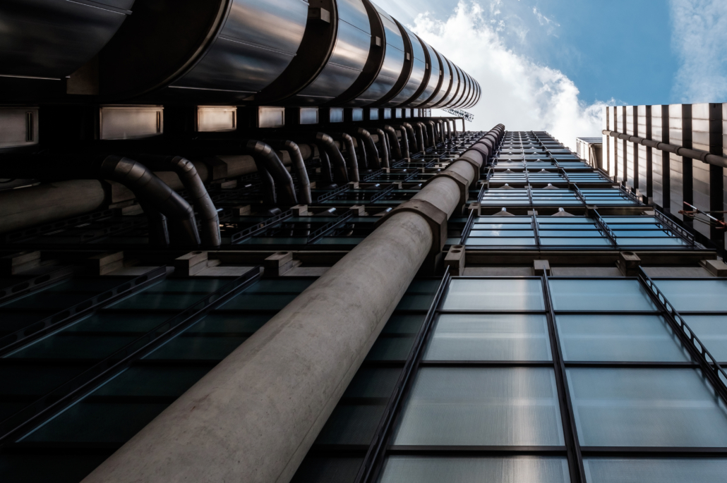 City of London Lloyds building. Corporate Photography London Ltd