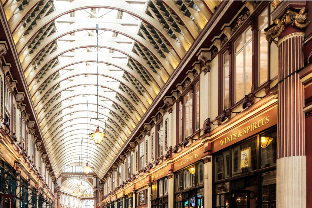 City of London. Leadenhall Market Corporate Photography London Ltd